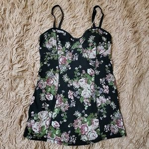TALULA Classic Bustier Floral Tank Top
